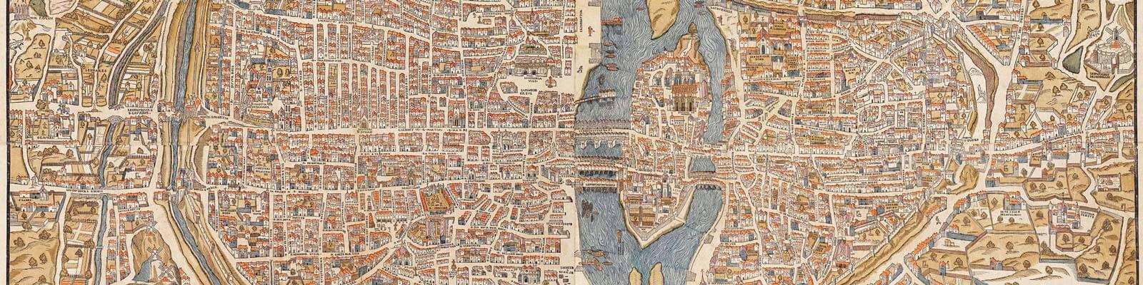 carte arrondissement paris