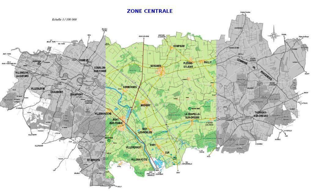 randonnée yonne zone centrale